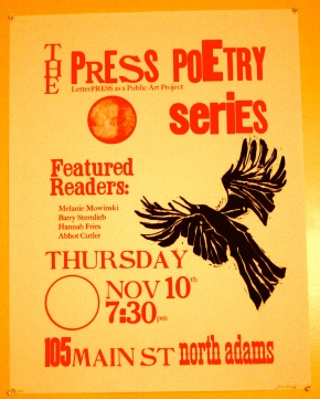 The PRESS PoetrySeries