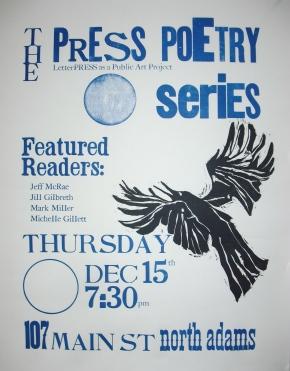 Thursday, December 15th: PRESS PoetrySeries