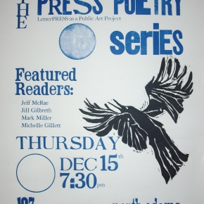Thursday, December 15th: PRESS Poetry Series