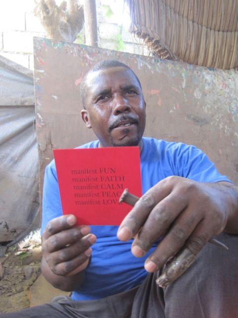 Haiti, Iron worker, Croix des Bouquets