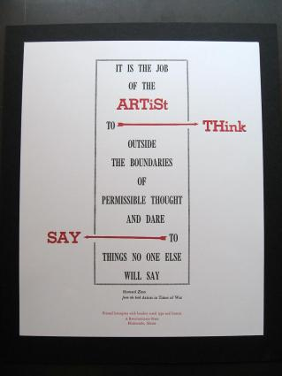 John Vincent, Artist, Think Say