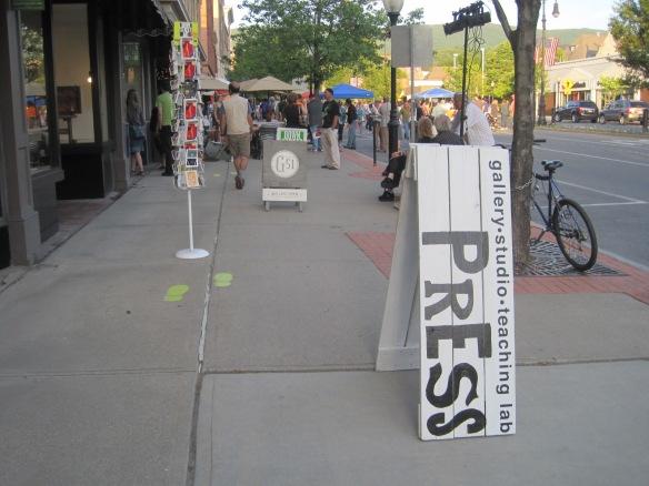 DownStreet Art opening
