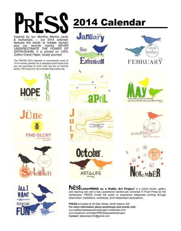 PRESS2014Calendar