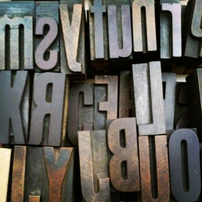 I'm Going Woodtype Crazy