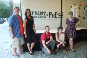 Printmaking @ PRESS & BIG News…