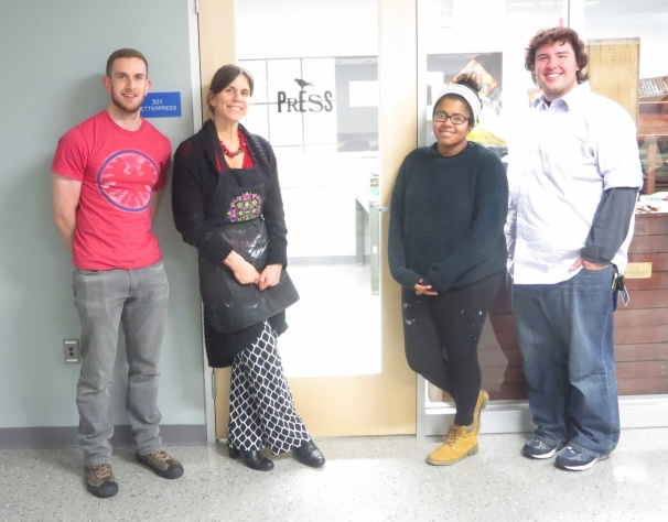 Jonas, Melanie, Kristina, Isaac--PRESS would not be possible without their help