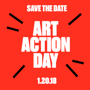 ART ACTION DAY 1.20.18